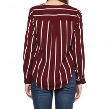 Formal Striped Women Top