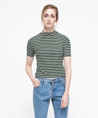 Striped Short Sleeve Tshirt